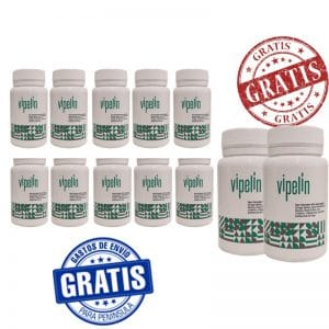 12 botes de Vipelin con Saw Palmetto