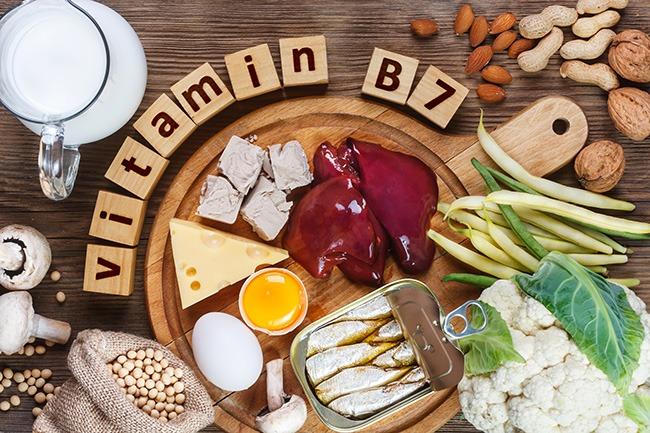 Vitamina H o B7 para el pelo