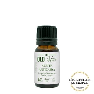 Aceite esencial Menta piperina limon y cedro The Old Wise