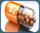 Cianocobalamina (vitamina B12) para la alopecia. Vipelín